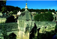 Bradford on Avon Town Bridge and Gaol - 20mins from Barn Cottages at Lacock Holiday Cottages