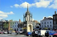 Devizes Market Place - a short drive from Barn Cottages at Lacock Holiday Cottages